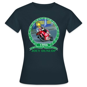 No 21 Joey Dunlop TT 1996 Ultra Lightweight 125cc - Women's T-Shirt