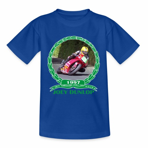 No 22 Joey Dunlop TT 1997 Lightweight 250cc - Kids' T-Shirt