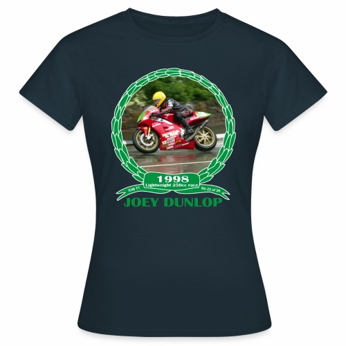 No 23 Joey Dunlop TT 1998 Lightweight 250cc - Women's T-Shirt