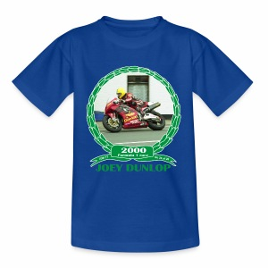 No 24 Joey Dunlop TT 2000 Formula 1 - Kids' T-Shirt