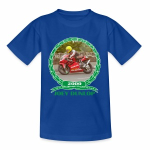 No 26 Joey Dunlop TT 2000 Ultra Lightweight 125cc - Kids' T-Shirt