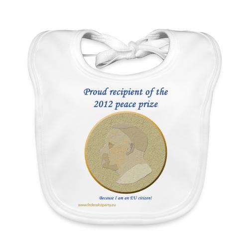 Peace Prize - Baby garment - Baby Organic Bib