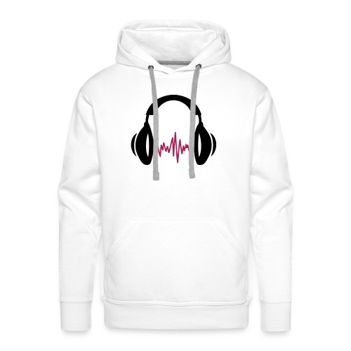 Hoodie  music - Sudadera con capucha premium para hombre