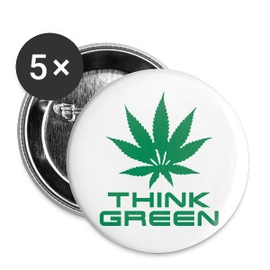 Badge of Green  - Buttons large 56 mm