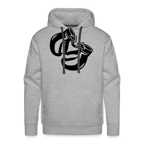 Training in progress - Men's Premium Hoodie