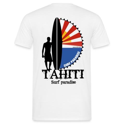 Tahiti surf paradise - T-shirt Homme