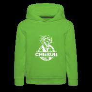 Hoodies ~ Kids' Premium Hoodie ~ Cherub Campus Green Kids Hoodie