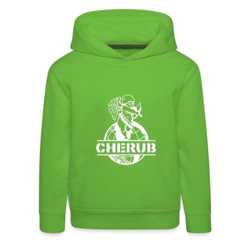 Cherub Campus Green Kids Hoodie - Kids' Premium Hoodie