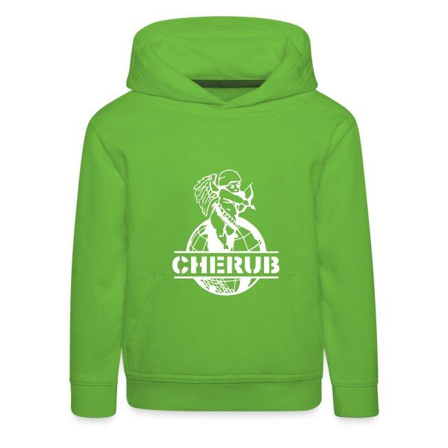 Cherub Campus Green Kids Hoodie