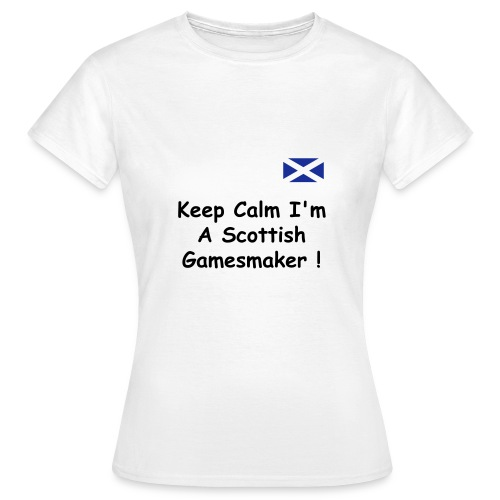 Female Keep Calm T Shirt - Women's T-Shirt