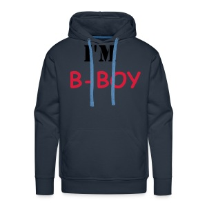 sweat swagg I'M B-BOY - Sweat-shirt à capuche Premium pour hommes