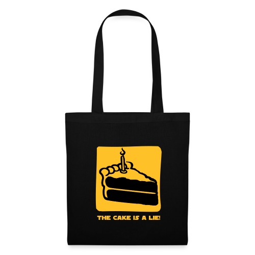 thecakeisalie tote bag - Tote Bag