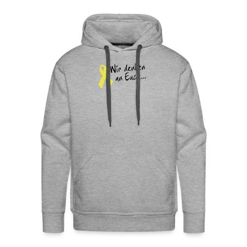 Gelbe Schleife Hoodie - Männer Premium Hoodie