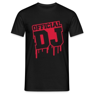 tee shirt official dj - T-shirt Homme