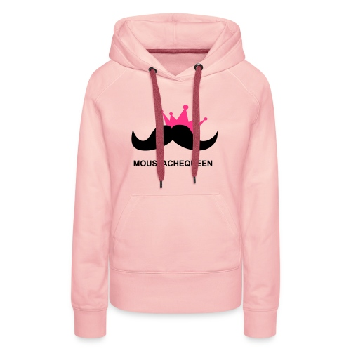 Moustachequeen - Frauen Premium Hoodie