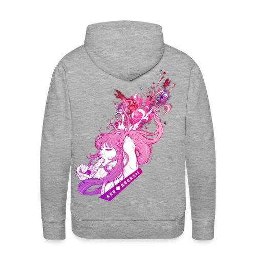 BANG! mens hoodie grey - Männer Premium Hoodie
