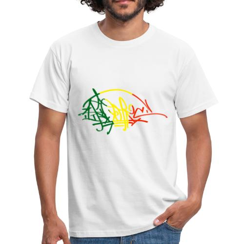 Tee shirt classique Homme Ikon Rastafarie - T-shirt Homme