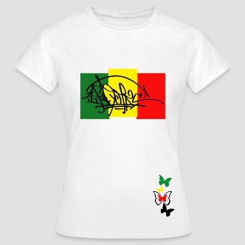 Tee shirt classique Femme Ikon Rastafarie - T-shirt Femme