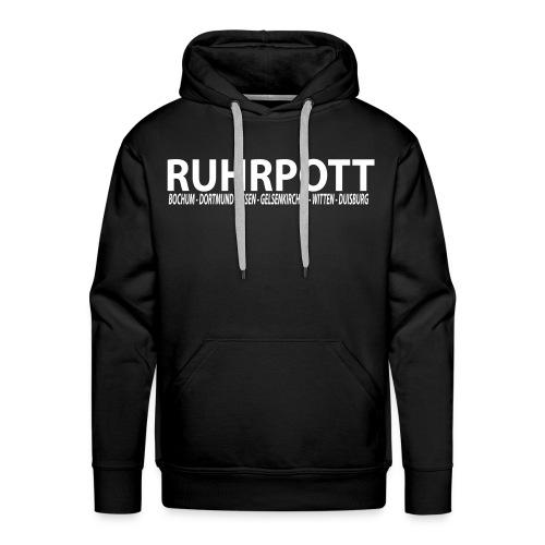 Ruhrpott - Das Revier - Männer Kapuzenpullover - Männer Premium Hoodie