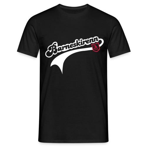 Barneskirenn t-skjorte - T-skjorte for menn