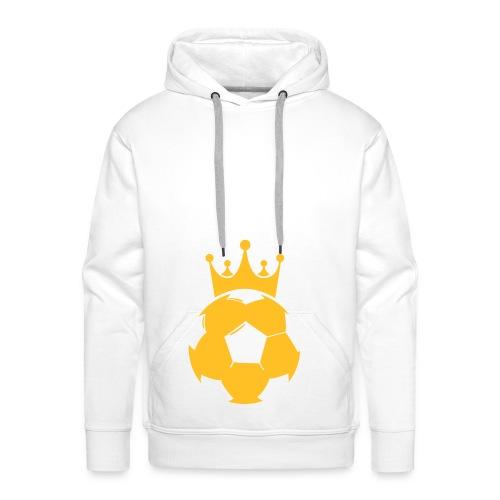 King of soccer - Mannen Premium hoodie