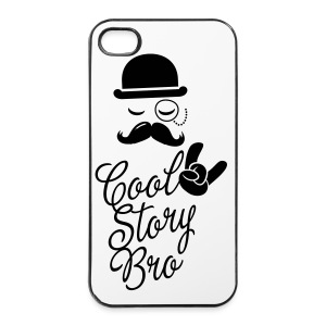 Cool Story Bro Iphone 4S Case - iPhone 4/4s Hard Case