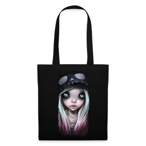 RHONA bag black - Stoffbeutel