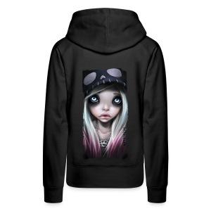 RHONA girl hoodie black - Frauen Premium Hoodie