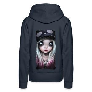 RHONA girl hoodie navy - Frauen Premium Hoodie