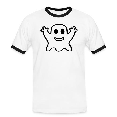 kleiner Geist - Männer Kontrast-T-Shirt