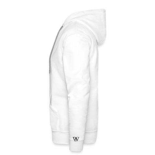 Weezy pullover white - Männer Premium Hoodie