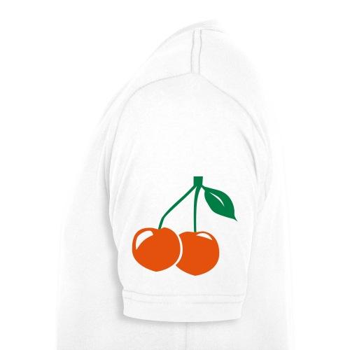 Cherry - Männer Bio-T-Shirt mit V-Ausschnitt von Stanley & Stella