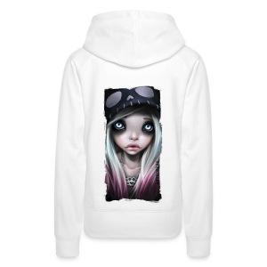 RHONA girl hoodie white - Frauen Premium Hoodie