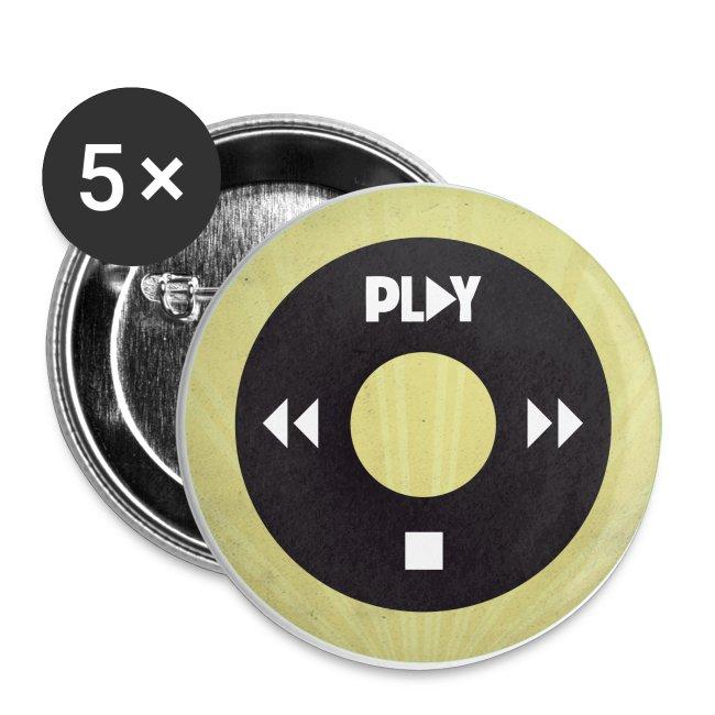 Chapa iPod amarilla