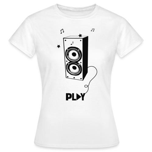 Camiseta música - Camiseta mujer