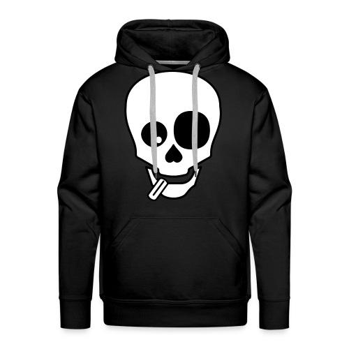 Mongo Skull Kapu - Männer Premium Hoodie