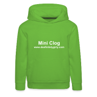 Hoodies ~ Kids' Premium Hoodie ~ For Mini Clogs