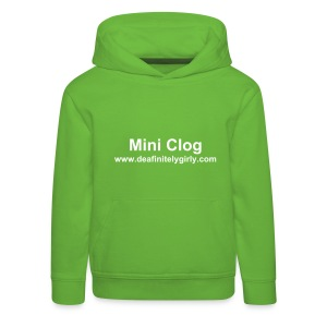 For Mini Clogs - Kids' Premium Hoodie