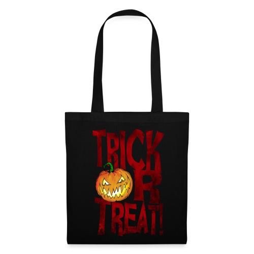 Splatterific Zombie Wear - Zombie Kürbis - Tasche Halloween Edition - Stoffbeutel