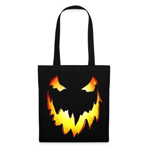 Splatterific Zombie Wear - Zombie Kürbis Gesicht - Tasche Halloween Edition - Stoffbeutel