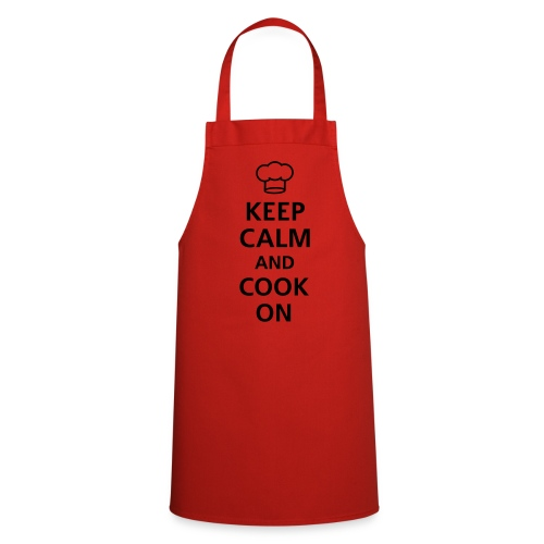 Keep Calm And Cook On  - Cooking Apron