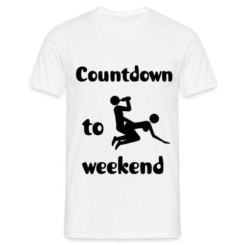 T-Shirt Countdown - Men's T-Shirt