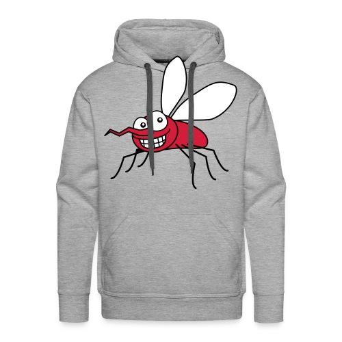 Mygge-hættetrøje  - Herre Premium hættetrøje