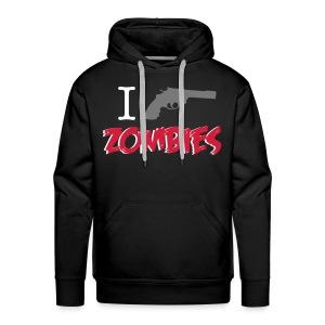 I shot zombies sudadera chico - Sudadera con capucha premium para hombre