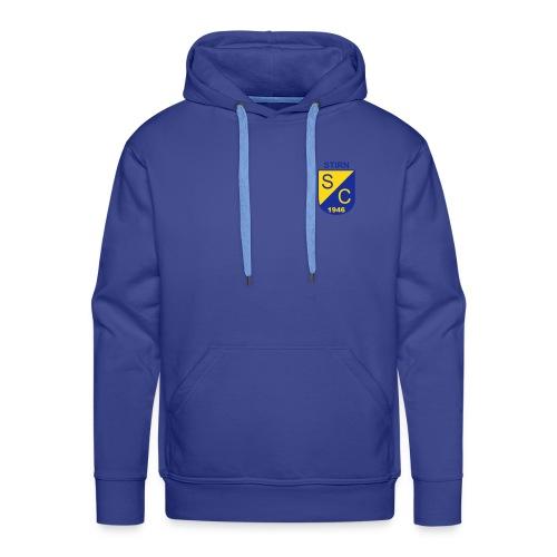 Kapuzenpulli Wappen (Beluga) Flock - Blau - Männer Premium Hoodie