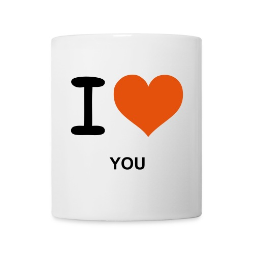 Tasse I Love You - Mug blanc