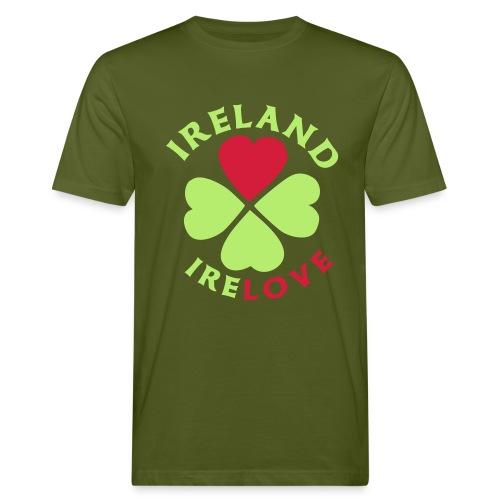 Ireland Love - Männer Bio-T-Shirt