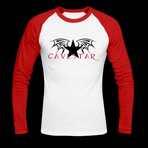 Cavestar - Maglia da baseball a manica lunga da uomo