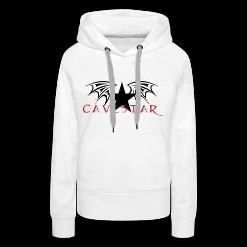 Cavestar - Felpa con cappuccio premium da donna