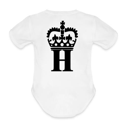 White Baby - Økologisk kortermet baby-body